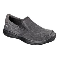 Men's Skechers Relaxed Fit Glides Adamant Slip On Black