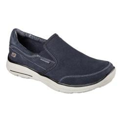 Men's Skechers Relaxed Fit Glides Adamant Slip On Navy