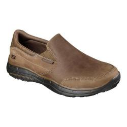 Men's Skechers Relaxed Fit Glides Calculous Slip On Desert