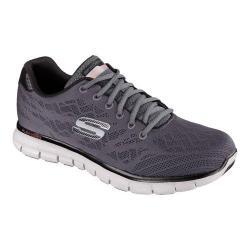 Men's Skechers Synergy Fine Tune Training Shoe Charcoal/Black