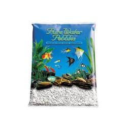 PW 5-pound Pebble Color Snow White (Pack of 6)