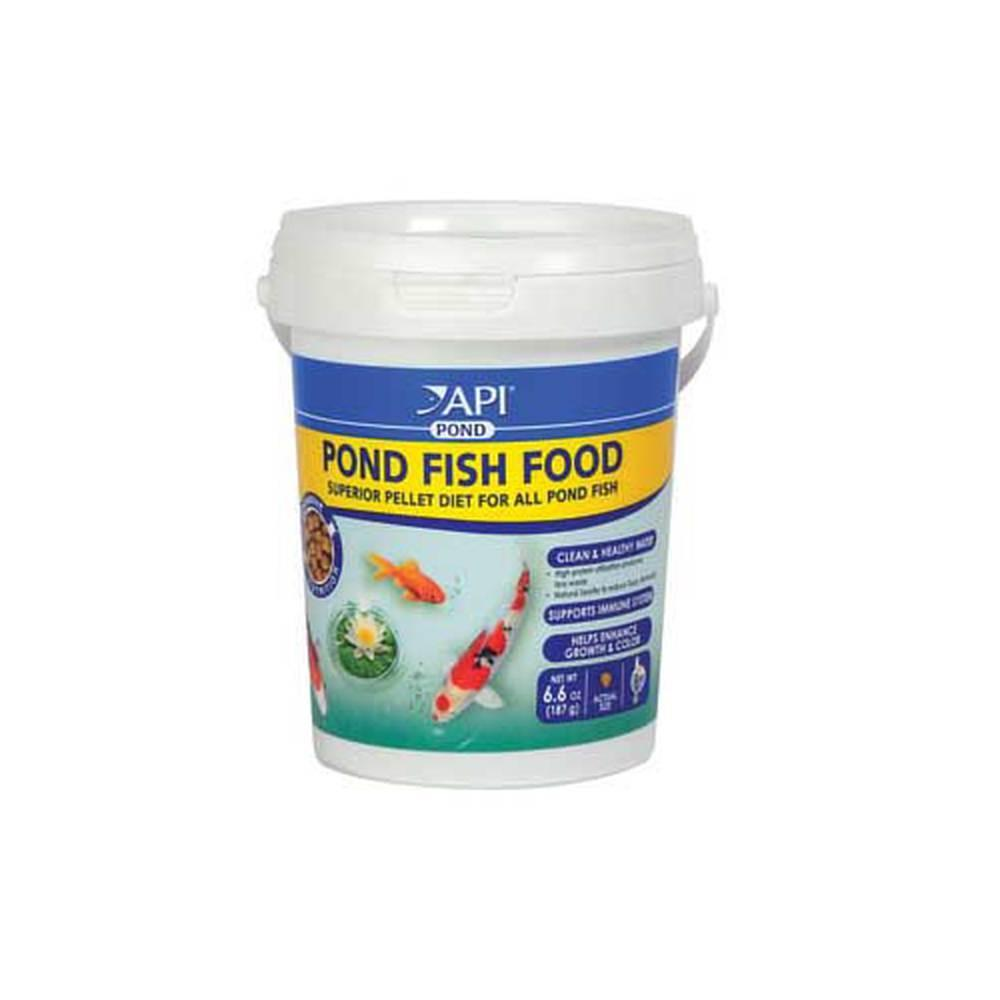 Api pond fish food 4mm pellet free shipping on for Pond fish food