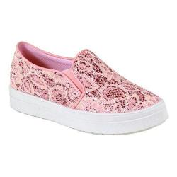 Women's Reneeze Olga-3 Glitter Slip On Sneaker Pink Synthetic