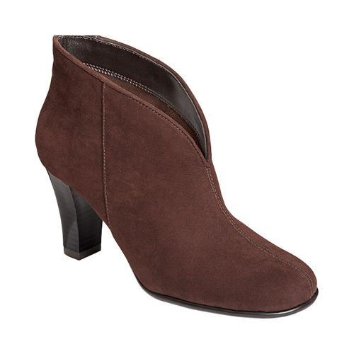 Womens Boots Aerosoles Gold Role Brown Fabric