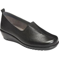 Women's Aerosoles Friendship Flat Black Leather