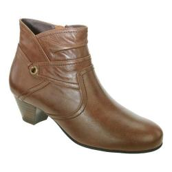 Women's David Tate Campus Brown Leather