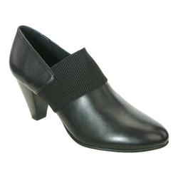 Women's David Tate Citadel Black Nappa Kid