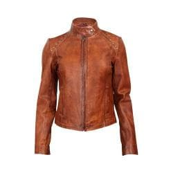 Women's Durango Boot Belle Starr Jacket Cognac Leather