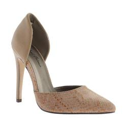 Women's Michael Antonio Lander d'Orsay Pump Natural Polyurethane