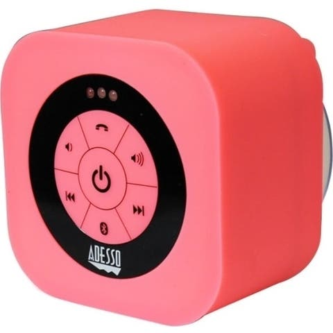 Adesso Xtream Xtream S1P Bluetooth Speaker System - Pink