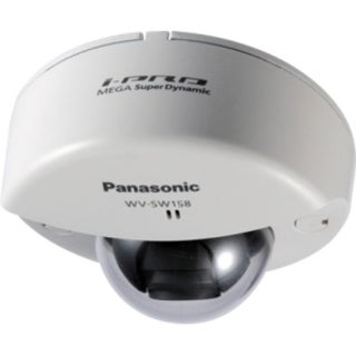 Panasonic Super Dynamic WV-SW158 3.1 Megapixel Network Camera - Monoc