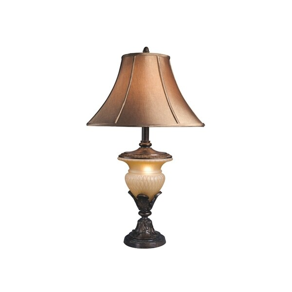 Danielle Beige/Bronze 34 Inch Table Lamps - Set of 2