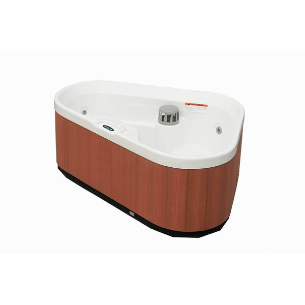 Aston 3-Person 7-Jet Dual Insulated Hot Tub Spa in White