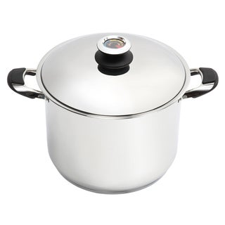Lorren Home Trends 15-quart Stainless Steel Dutch Oven