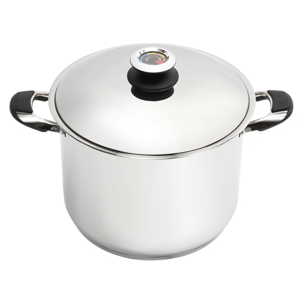 Shop Lorren Home Trends 20 Quart Stainless Steel Dutch Oven Free