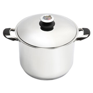 Lorren Home Trends 20-quart Stainless Steel Dutch Oven