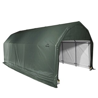 Shelterlogic Outdoor Boat/ Vehicle 20-foot Green Storage Shed
