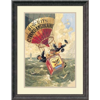 Theophile Alexandre Steinlen 'Biscuits Franco-Americaine, 1888' Framed Art Print 18 x 24-inch