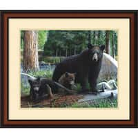 Framed Art Print 'New Discoveries' by Kevin Daniel 28 x 24-inch