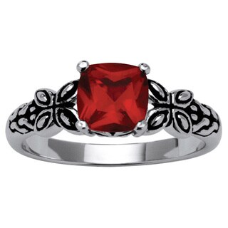 Sterling Silver Birthstone Ring (More options available)