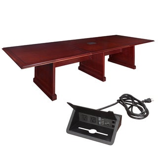 Regency 144-inch Prestige Modular Conference Table with Power