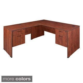 Regency 60-inch Sandia Double Pedestal L-desk