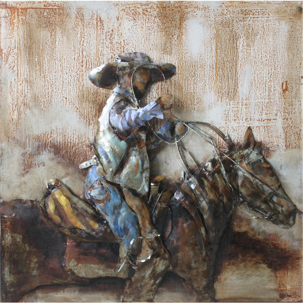 Shop Rodeo Metal Art - Free Shipping Today - Overstock - 9202866 dc3275dcbbe4