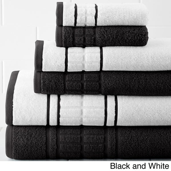 Amraupur Overseas Quick Dry Egyptian Cotton 6-piece Towel Set