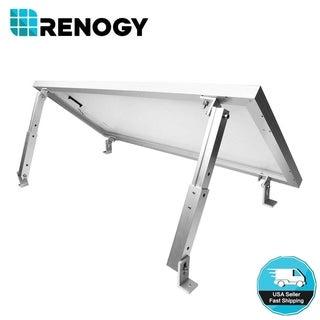 Renogy Solar Roof Tilt Mount Module Bracket - White