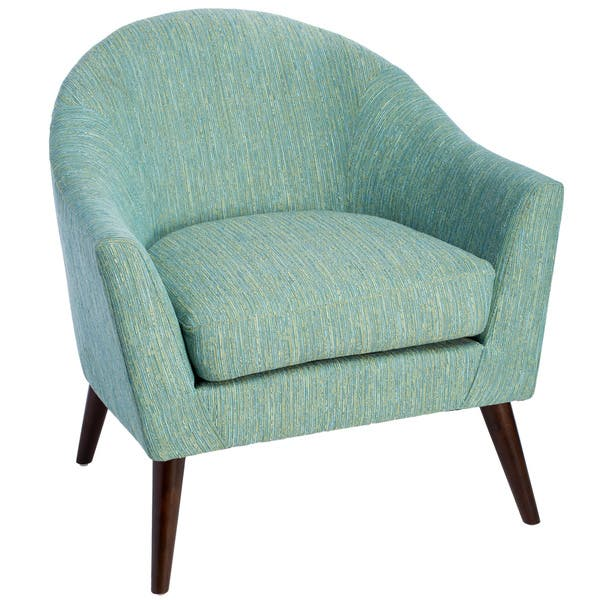 Pleasing Shop Grayson Teal Accent Chair Free Shipping Today Lamtechconsult Wood Chair Design Ideas Lamtechconsultcom