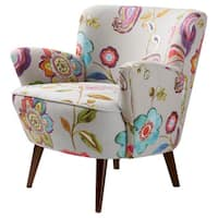 Stone & Stripes Sophie Floral Accent Chair