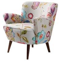 Stones & Stripes Sophie Floral Accent Chair