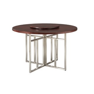 Somerton Dwelling Soho Round Table with Lazy Susan