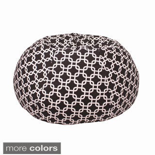 Small/ Toddler 100-percent Cotton Gotcha Hatch Pattern Print Bean Bag