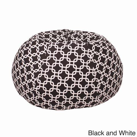 Small/ Toddler 100-percent Cotton Gotcha Hatch Pattern Print Bean Bag