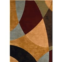 Home Dynamix Evolution Collection Contemporary Multi-Colored Area Rug (5'2 x7'6)