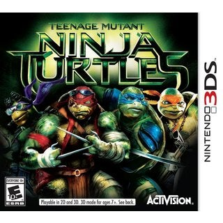 Nintendo 3DS - Teenage Mutant Ninja Turtles