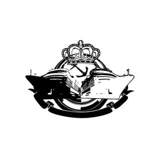 Yachts & Crown Wall Vinyl Art