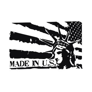 Made In U.S. Wall Vinyl Art