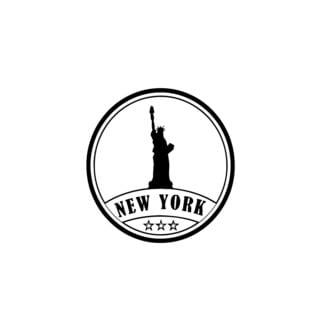 New York City Seal Wall Vinyl Art