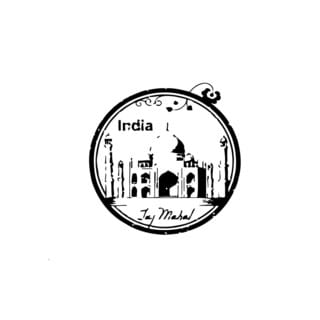 Taj Mahal India Wall Vinyl Art