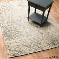 Vintage Glam Multi Abstract Area Rug - 5' x 7'6
