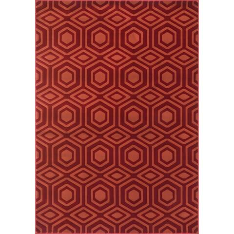 Alexander Home Presley Graphic Moroccan Rug