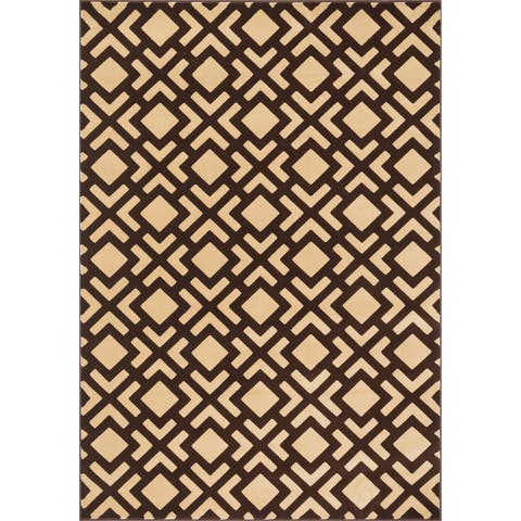 Alexander Home Presley Lattice Rug