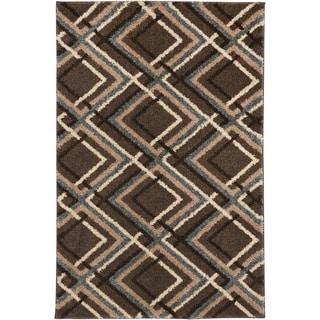 Mohawk Augusta Browning Avenue Grey Black Rug (8' x 11')