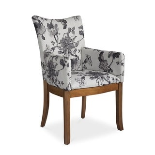 Somerton Dwelling Sophisticate Floral Arm Chairs (Set of 2)