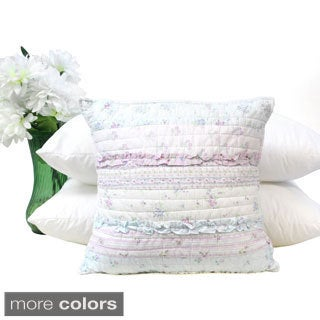 Romantic Chic Lace 16-inch Decorative Pillow