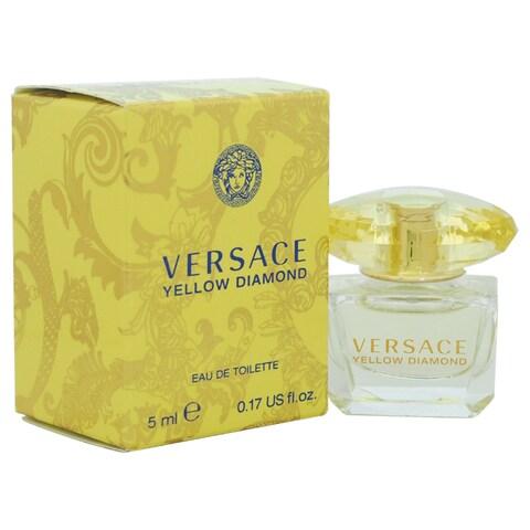 Versace Yellow Women's Diamond 0.17-ounce Eau de Toilette Splash (Mini)