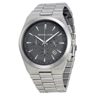 Michael Kors Men's MK8337 'Channing' Grey Stainless Steel Watch