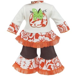 AnnLoren Autumn Pumpkin Patch Outfit